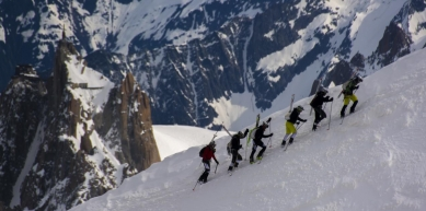 A picture from Mont Blanc / Monte Bianco by Dynafit