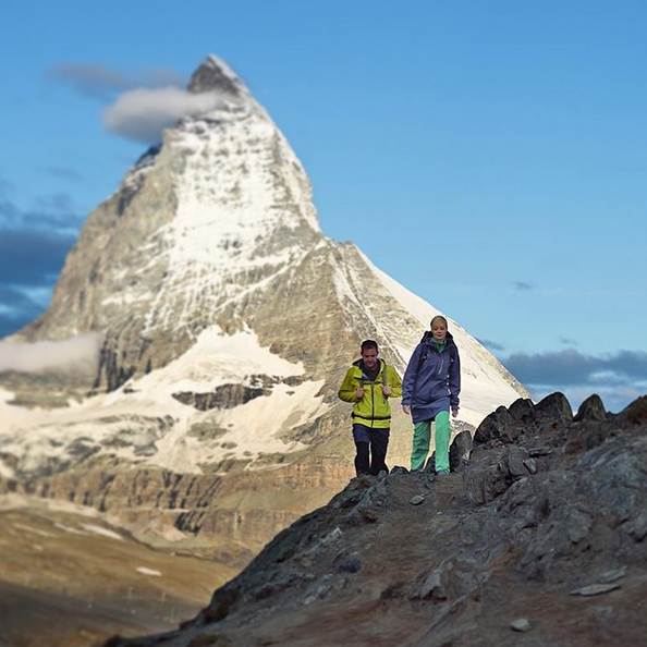 A picture from Matterhorn by Mammut