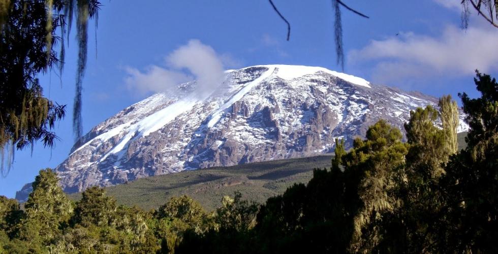 Machame route in Kilimanjaro / Uhuru/Kibo Peak