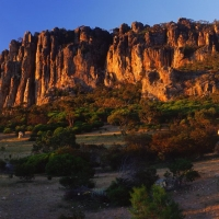 Mount Arapiles by andrew wilson