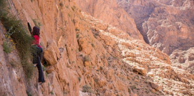 A picture from Todra Gorge by Globe Climber
