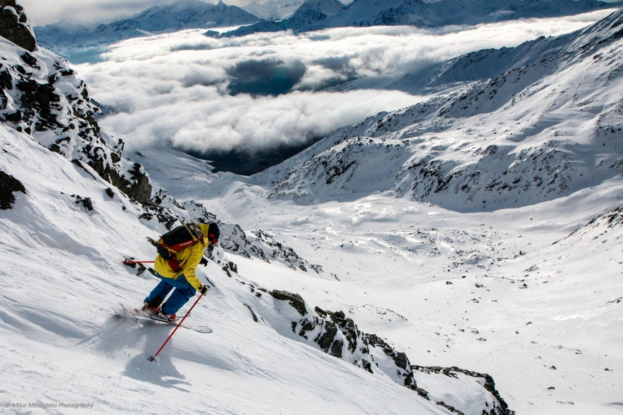 A picture from Chamonix by Mammut