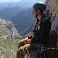 Spigolo Giallo Route, Tre Cime di Lavaredo  by Selim Özkul