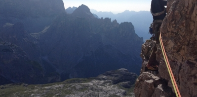 A picture from Spigolo Giallo Route, Tre Cime di Lavaredo  by Selim Özkul