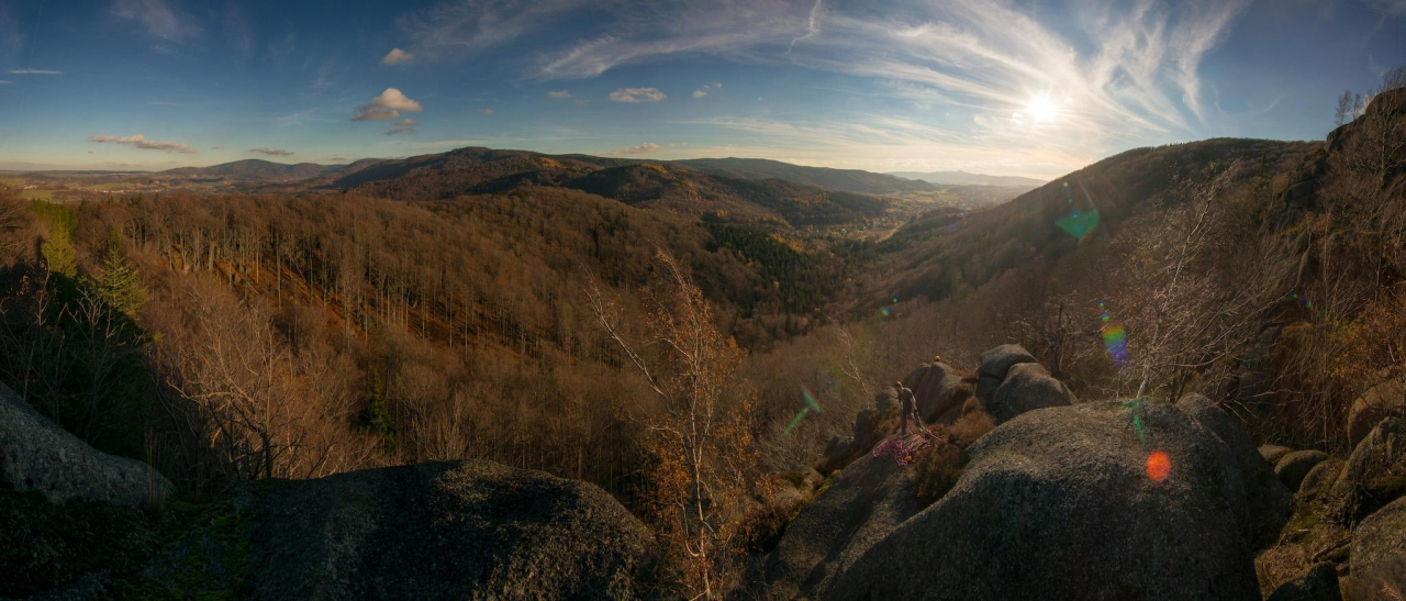 A picture from Jizerské hory by Jan Zahula
