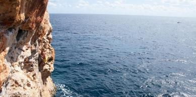 A picture from Cueva del Diablo, Mallorca by Globe Climber