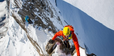 A picture from Chamonix by Kailas