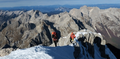 A picture from Triglav North Face by Michi Wohlleben