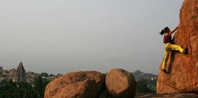 A picture from Hampi by Lory Carpano