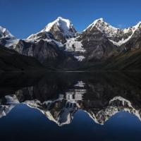 Jirishanca, Cordillera Huayhuash, Andes by Vörös Tomi