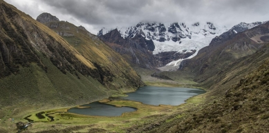 A picture from Cordiella Huayhuash, Peru by Vörös Tomi