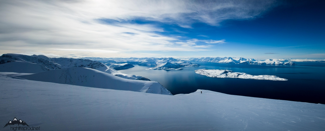 A picture from Lyngen Alps, Norway by Dynafit