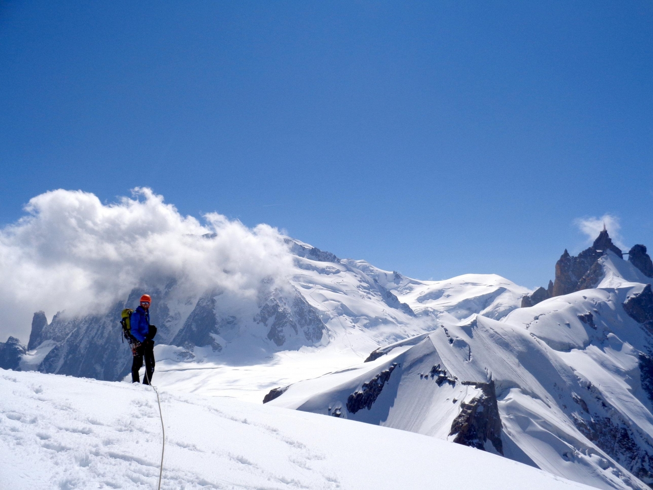 A picture from Aiguille du Midi by Explore-Share