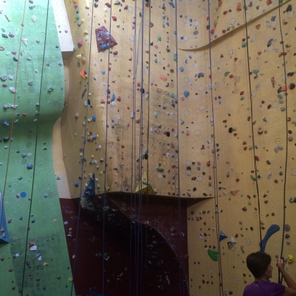 New Rock Climbing Gym by Lolotte