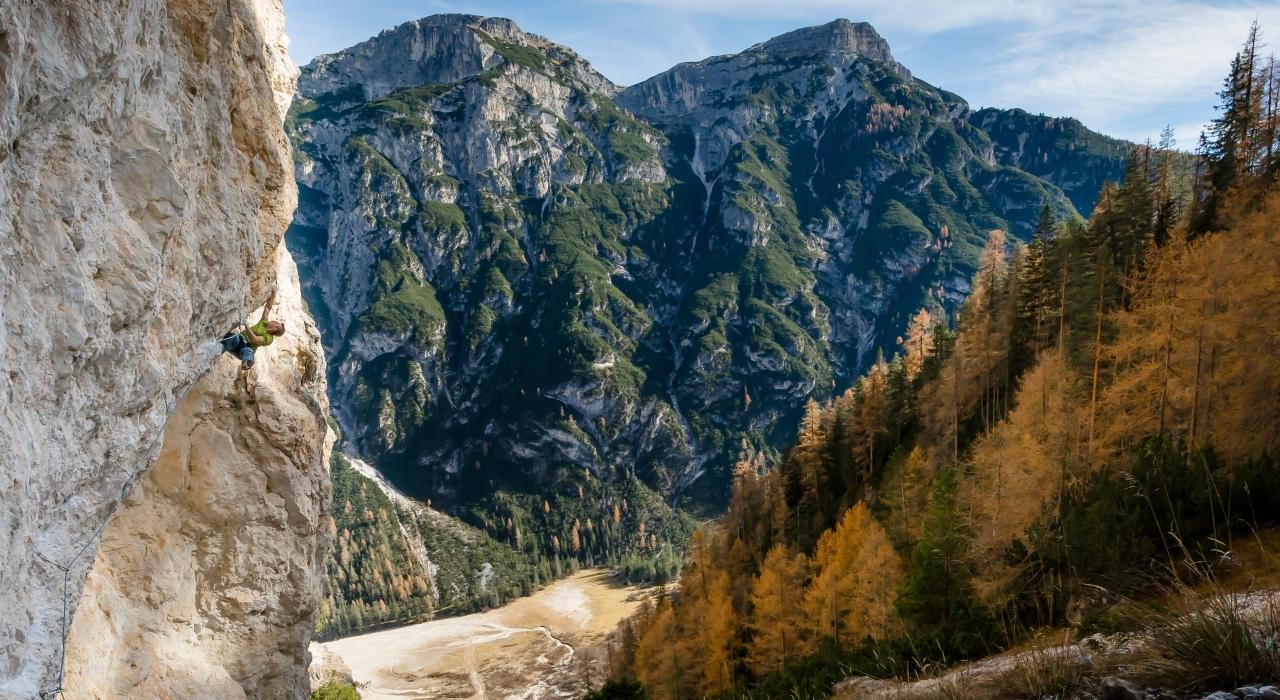 A picture from Geierwand by Michael Kofler