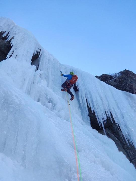 A picture from valgrisenche, aosta valley by Climbing Technology