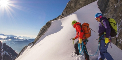 A picture from Tour Ronde by Climbing Technology