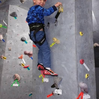 Rocksport Indoor Climbing Gym by Matt Trombley