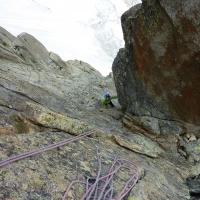Envers des Aiguilles de Chamonix by Lucas Duperrex