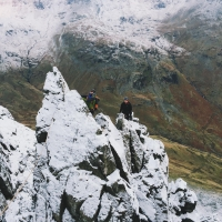 St Sunday Crag by Peter Naylor