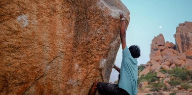 A picture from Hampi by mohnish MO