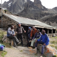 Mount Kenya by Christian Fontaine