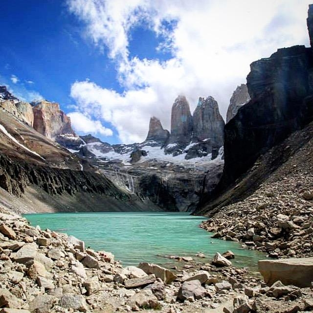 A picture from Torres del Paine by Sunny Stroeer