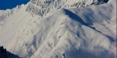 A picture from Stubai Alps by Csilla Poór