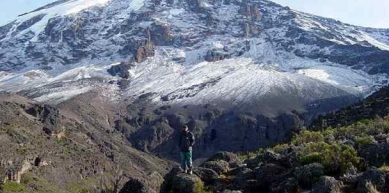 A picture from Kilimanjaro / Uhuru/Kibo Peak by Kiliho Guidance