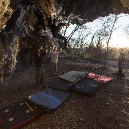 Grottino Boulder by Michele Guarneri
