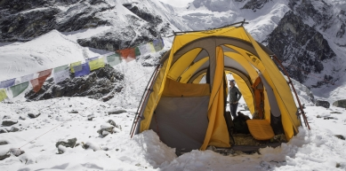 A picture from Kathmandu by MSR / Mountain Safety Research