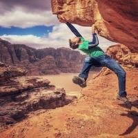 Wadi Rum, Jordan by Lena Drapella