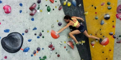 A picture from Momentum Indoor Climbing, Lehi by Stephanie Hopkins