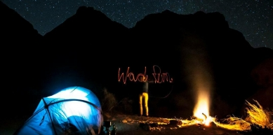 A picture from Wadi Rum by Lena Drapella