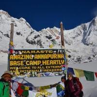 Annapurna Base Camp by Martina Zanella
