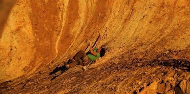 A picture from Margalef by Climbing Technology