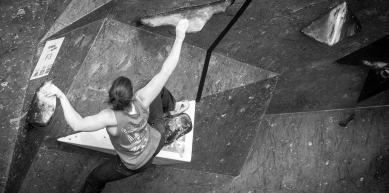 A picture from The Climbing Works by Largeron Damien