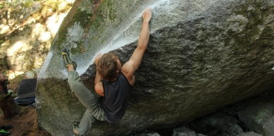 A picture from Grand Wall Boulders by Jennifer Slater