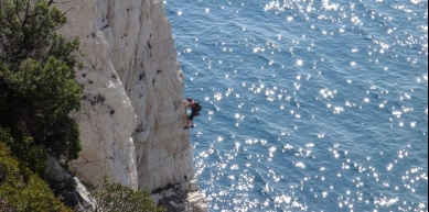A picture from Plateau de Castelvieil by Crescendo escalade