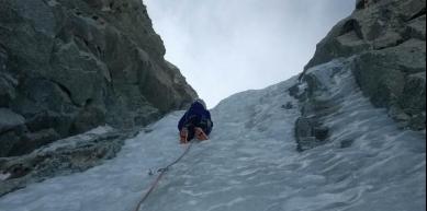 A picture from Mont Blanc du Tacul by Deborah Bionaz