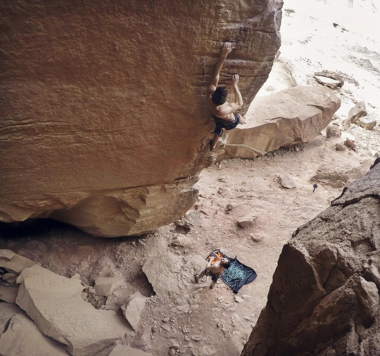 A picture from Timna Park by Benjamin Weber