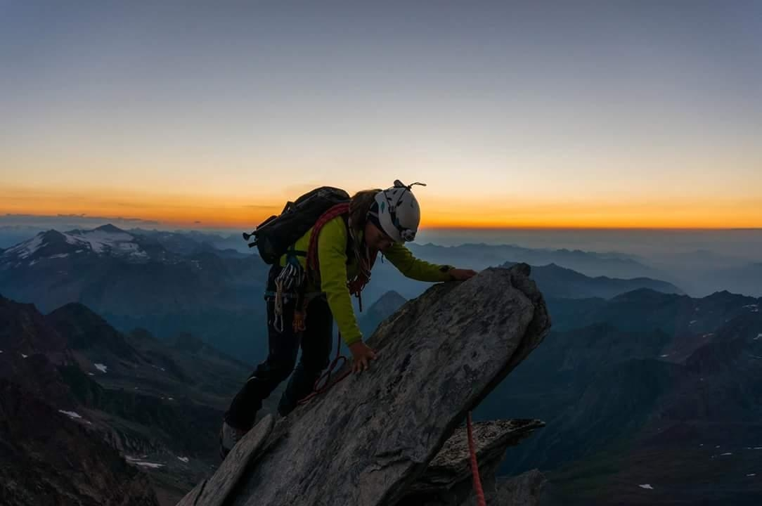 A picture from Weissmies by Sylvain Mauroux