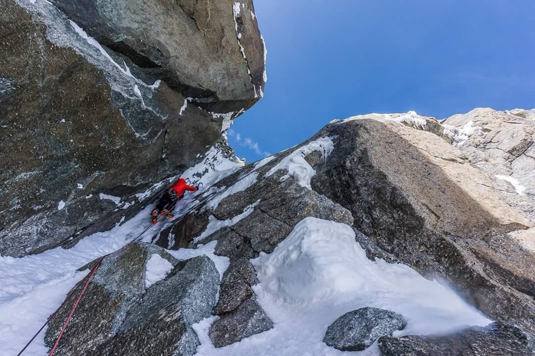 A picture from Mont Blanc du Tacul by Sylvain Mauroux