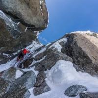 Mont Blanc du Tacul by Sylvain Mauroux
