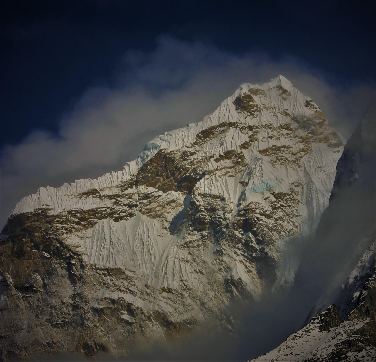 A picture from Ama Dablam by Jase Wilson