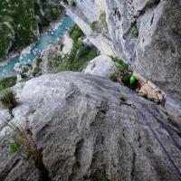 Gorges du Verdon by Crescendo escalade