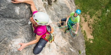 A picture from Madonna della Rota by Climbing Technology