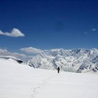 Hindu kush mountain, darkoot peak 6800m by karim shah nizari