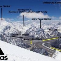 Broad Peak Karakurom pakistan by karim shah nizari