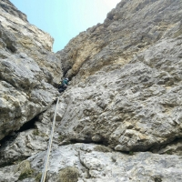 Ciavazes, Dolomites by Roberto Bravi